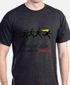zombies chasing ann coulter T-Shirt
