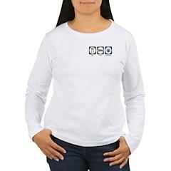 Eat Sleep Arachnids Women's Long Sleeve T-Shirt