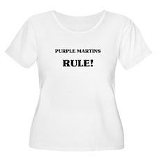 Purple Martins Rule T-Shirt