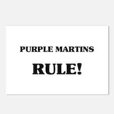 Purple Martins Rule Postcards (Package of 8)
