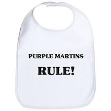 Purple Martins Rule Bib