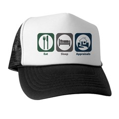 Eat Sleep Appraisals Trucker Hat