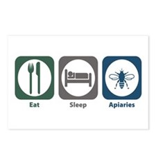 Eat Sleep Apiaries Postcards (Package of 8)