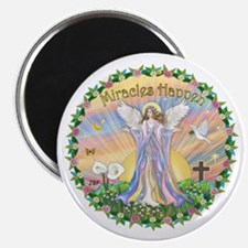 Miracles Happen Magnet