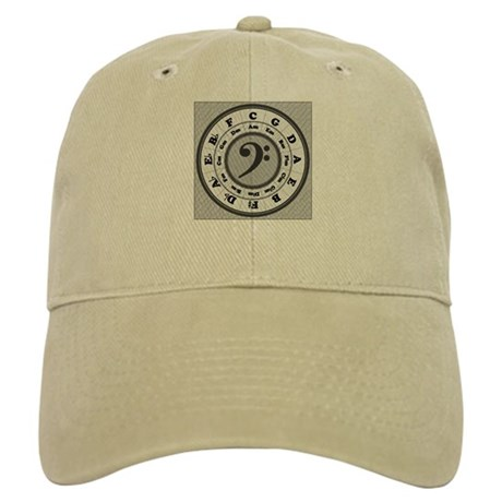 Bass Clef Circle of Fifths Cap