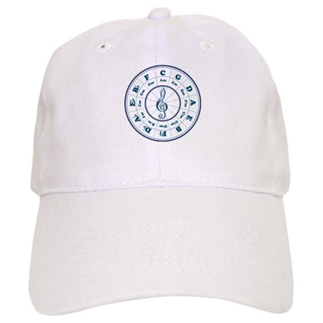 New Blue Circle of Fifths Cap