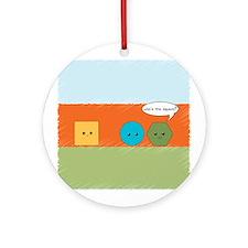 Square Joke Ornament (Round)