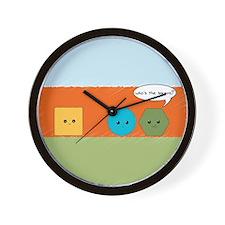 Square Joke Wall Clock