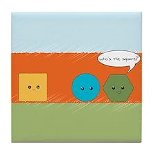 Square Joke Tile Coaster