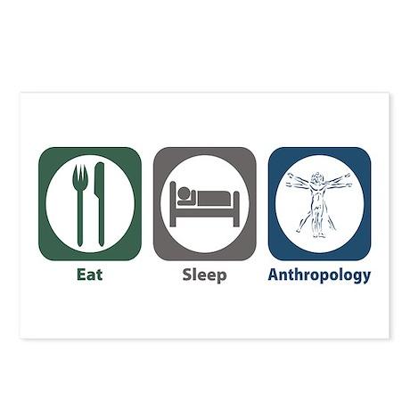 Eat Sleep Anthropology Postcards (Package of 8)