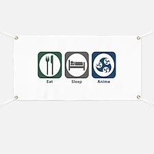Eat Sleep Anime Banner