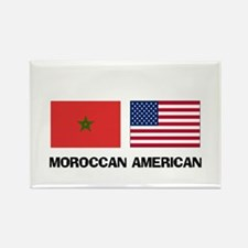 Moroccan American Rectangle Magnet