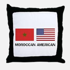 Moroccan American Throw Pillow