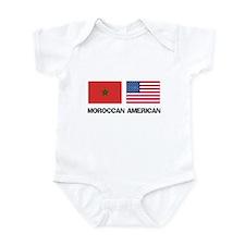 Moroccan American Infant Bodysuit