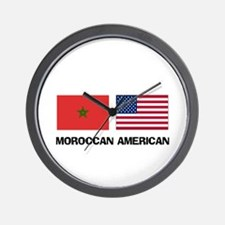 Moroccan American Wall Clock