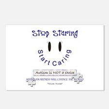 Stop Staring, Start Caring! Postcards (Package of
