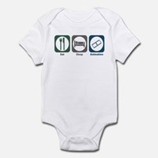 Eat Sleep Animation Infant Bodysuit