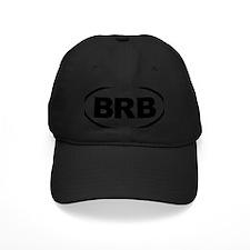 BRB Black Baseball Cap