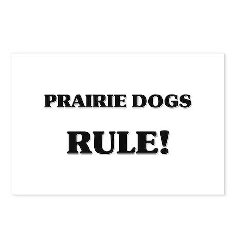 Prairie Dogs Rule Postcards (Package of 8)
