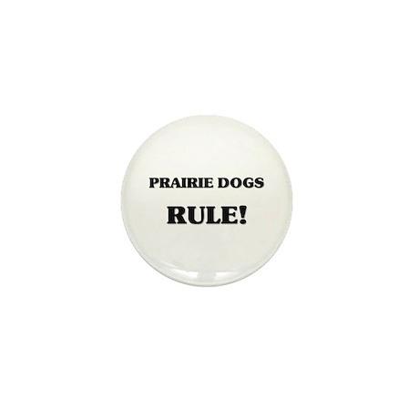 Prairie Dogs Rule Mini Button