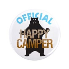 """Happy Camper 3.5"""" Button (100 pack)"""