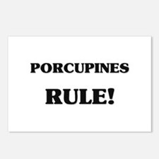 Porcupines Rule Postcards (Package of 8)