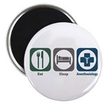 "Eat Sleep Anesthesiology 2.25"" Magnet (100 pa"