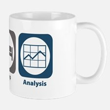 Eat Sleep Analysis Mug