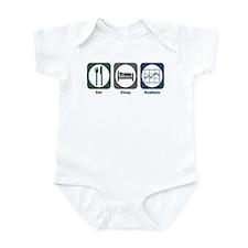 Eat Sleep Analysis Infant Bodysuit