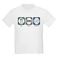 Eat Sleep Analysis T-Shirt