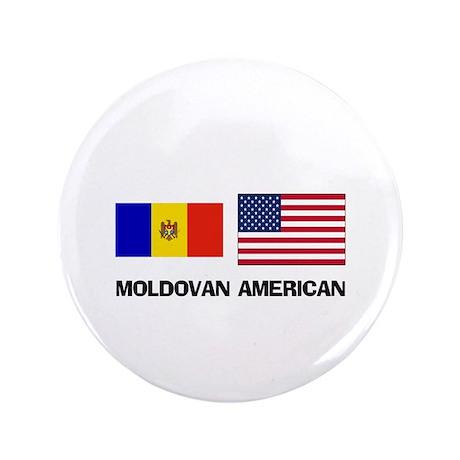 """Moldovan American 3.5"""" Button"""