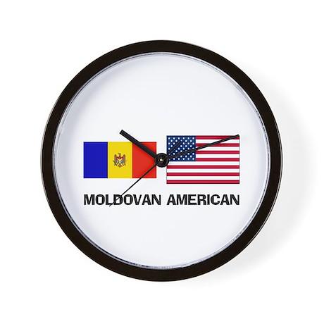 Moldovan American Wall Clock