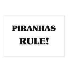 Piranhas Rule Postcards (Package of 8)