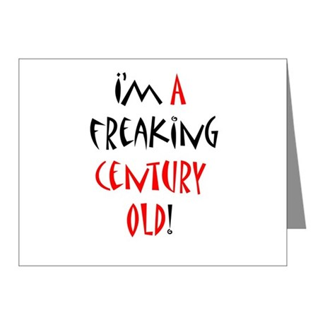 A century old! Note Cards (Pk of 20)