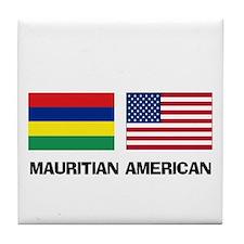 Mauritian American Tile Coaster