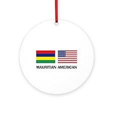 Mauritian American Ornament (Round)