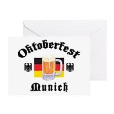 Oktoberfest Munich Greeting Card