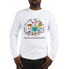 Earth Friendly Animals Long Sleeve T-Shirt