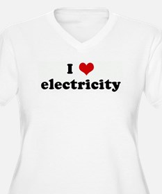 I Love electricity T-Shirt
