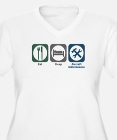 Eat Sleep Aircraft Maintenance T-Shirt
