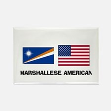 Marshallese American Rectangle Magnet