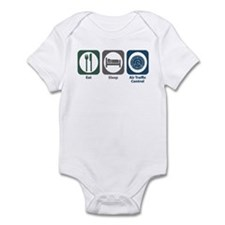 Eat Sleep Air Traffic Control Infant Bodysuit