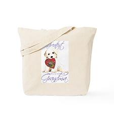 Bichon Grandma Tote Bag