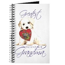 Bichon Grandma Journal