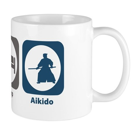 Eat Sleep Aikido Mug