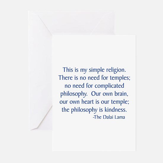 Dalai Lama 12 Greeting Cards (Pk of 10)