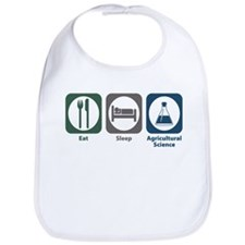 Eat Sleep Agricultural Science Bib