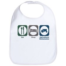 Eat Sleep Agricultural Mechanization Bib