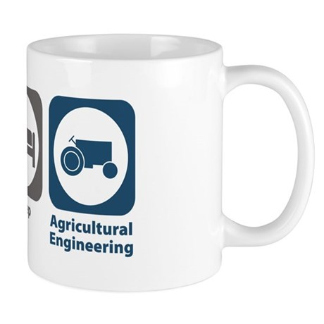 Eat Sleep Agricultural Engineering Mug