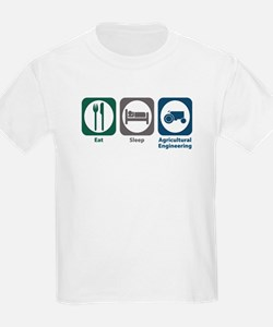 Eat Sleep Agricultural Engineering T-Shirt